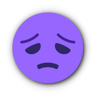 PURPLE Emoji • Stickers messages sticker-10