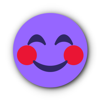 PURPLE Emoji • Stickers messages sticker-0