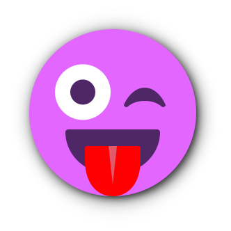 FUCHSIA Emoji • Stickers for iMessage messages sticker-8