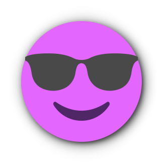 FUCHSIA Emoji • Stickers for iMessage messages sticker-4