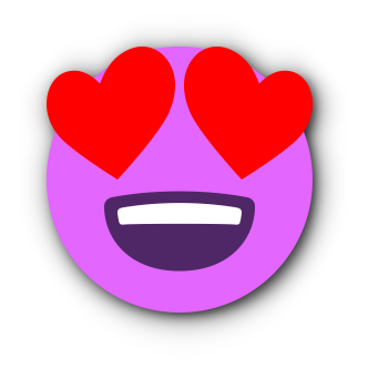 FUCHSIA Emoji • Stickers for iMessage messages sticker-3