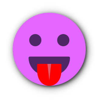 FUCHSIA Emoji • Stickers for iMessage messages sticker-7