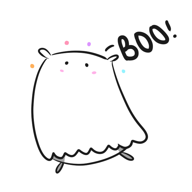 Chubby Hamsters: Halloween Mini-pack messages sticker-0