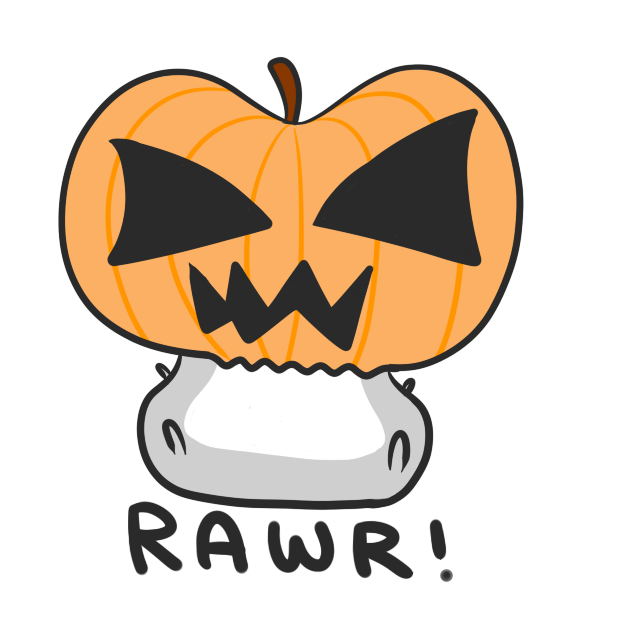 Chubby Hamsters: Halloween Mini-pack messages sticker-3
