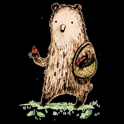 Bear - Redbubble sticker pack messages sticker-4
