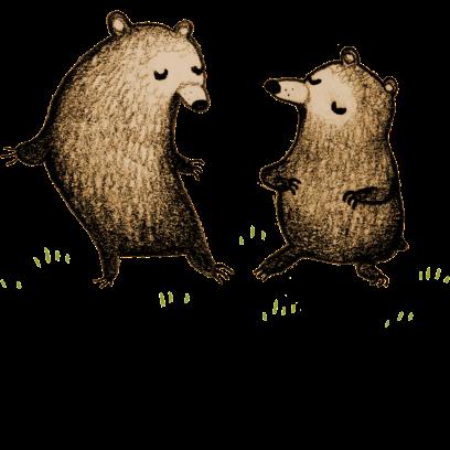 Bear - Redbubble sticker pack messages sticker-9