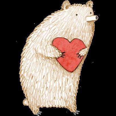 Bear - Redbubble sticker pack messages sticker-1