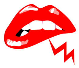 Sexy Lip Stickers for iMessage messages sticker-8