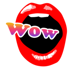 Sexy Lip Stickers for iMessage messages sticker-9