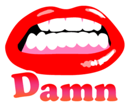 Sexy Lip Stickers for iMessage messages sticker-10