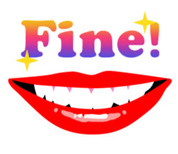 Sexy Lip Stickers for iMessage messages sticker-5