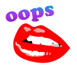 Sexy Lip Stickers for iMessage messages sticker-11