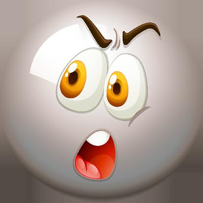 Snooker-Balls Smileys for iMessage messages sticker-8
