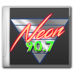 NEON 90.7 messages sticker-9