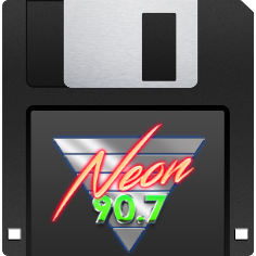 NEON 90.7 messages sticker-8