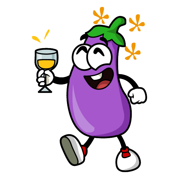 Eggplant Stickers messages sticker-9