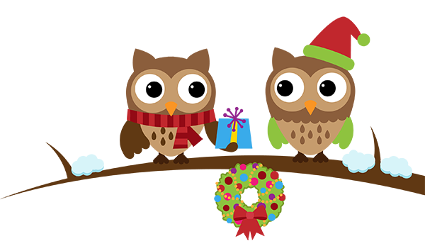 Owlidays - Holidays wishes and greetings messages sticker-5