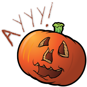 Cutest Halloween messages sticker-11