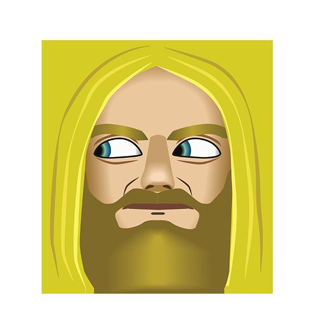 Zakk Wylde by Emoji Fame messages sticker-8