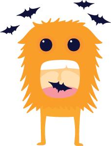 Halloween Stickers - Cute Halloween Monsters messages sticker-3