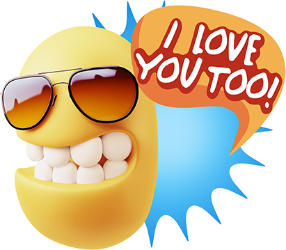 3D Love Colourful Stickers for iMessage messages sticker-5