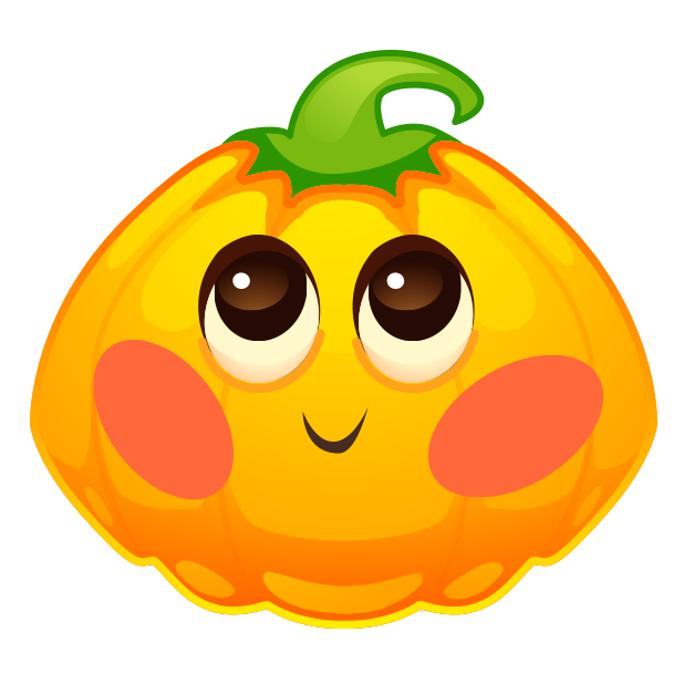 Halloween Pumpkins Emoji messages sticker-2