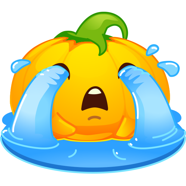 Halloween Pumpkins Emoji messages sticker-4