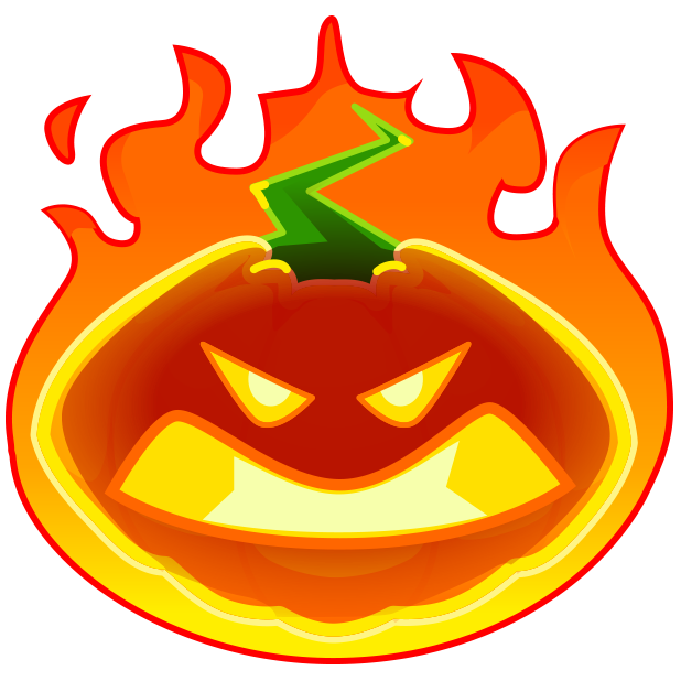 Halloween Pumpkins Emoji messages sticker-6