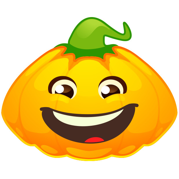 Halloween Pumpkins Emoji messages sticker-7
