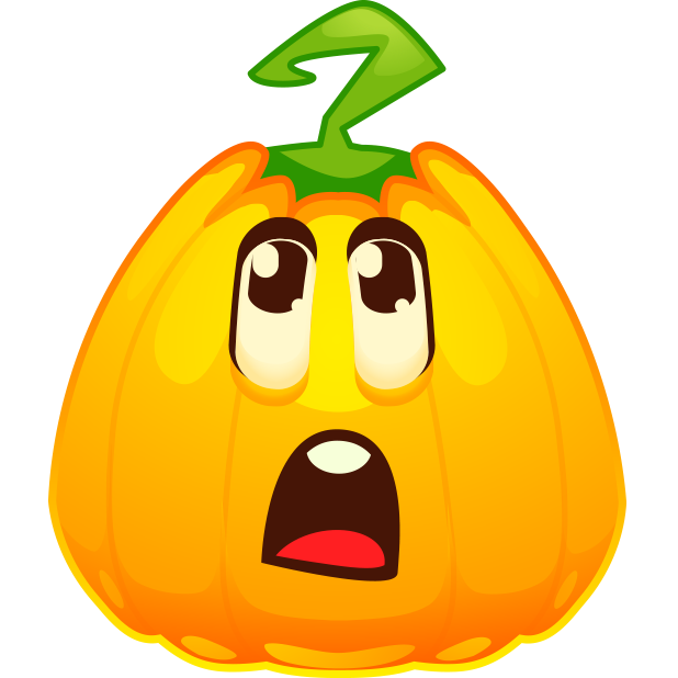 Halloween Pumpkins Emoji messages sticker-8