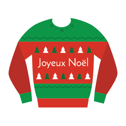 Ugly Christmas Sweaters Sticker Pack messages sticker-11