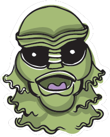 Halloween Stickers - Scary Halloween Monsters messages sticker-5