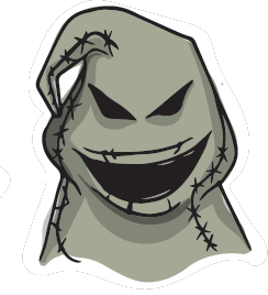 Halloween Stickers - Scary Halloween Monsters messages sticker-1