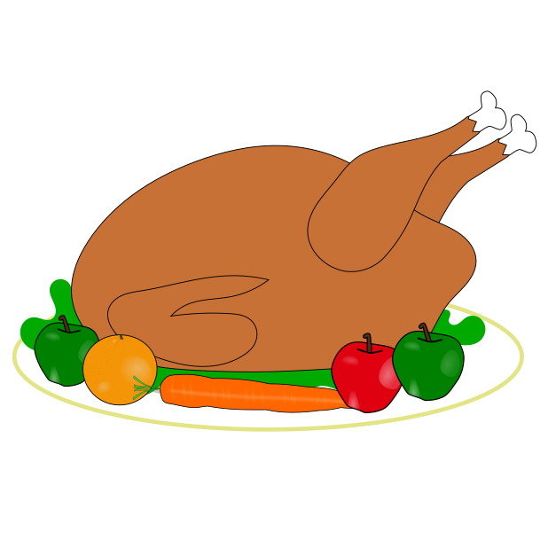 Thanksgiving Stickers (with Sticker effect) messages sticker-3