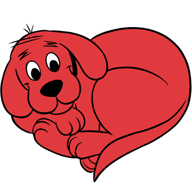 Clifford Stickers messages sticker-4