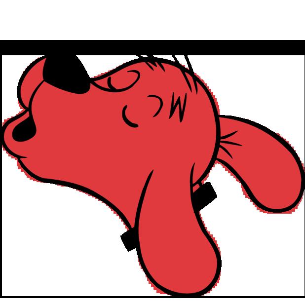 Clifford Stickers messages sticker-3