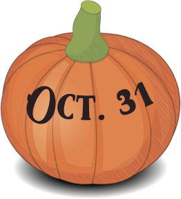 Halloween's pumpkin messages sticker-6