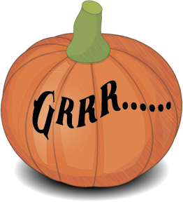 Halloween's pumpkin messages sticker-5