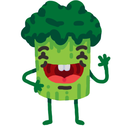 Broccoli & Blueberry messages sticker-10