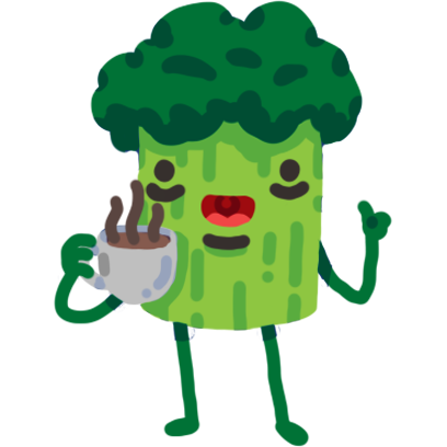Broccoli & Blueberry messages sticker-5