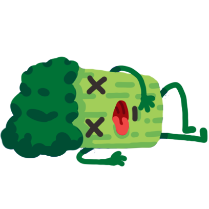 Broccoli & Blueberry messages sticker-7