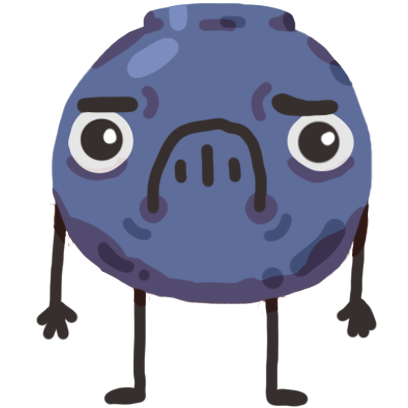 Broccoli & Blueberry messages sticker-8