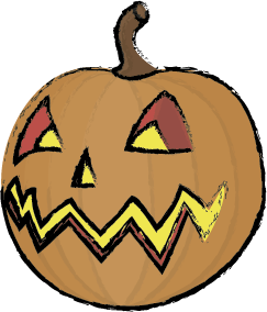 Halloween Scary messages sticker-4