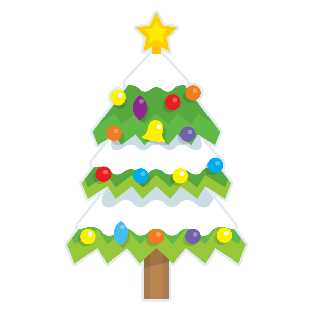 Blinking Christmas Trees messages sticker-3