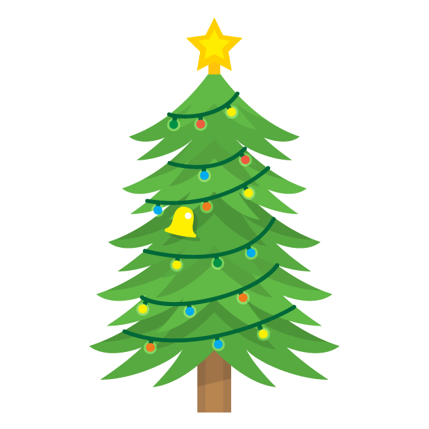 Blinking Christmas Trees messages sticker-6