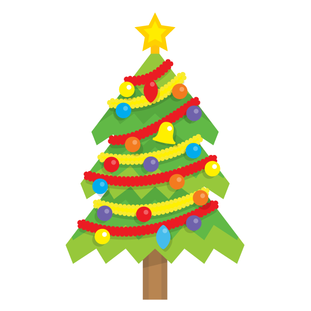 Blinking Christmas Trees messages sticker-1