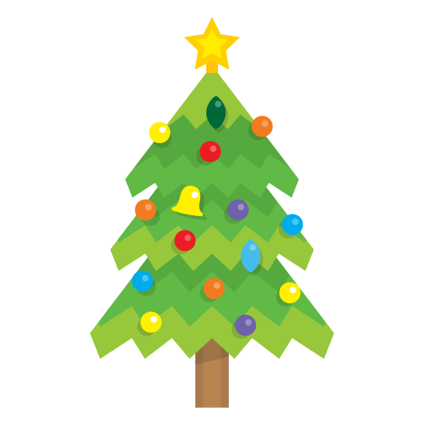Blinking Christmas Trees messages sticker-0
