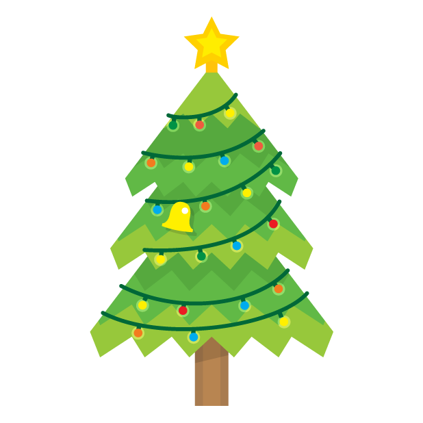 Blinking Christmas Trees messages sticker-2