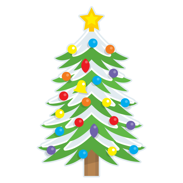 Blinking Christmas Trees messages sticker-7