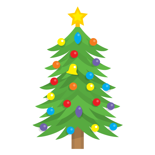 Blinking Christmas Trees messages sticker-4